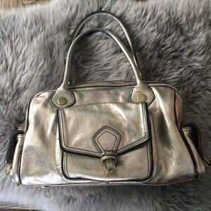 Marc By Marc Jacobs Metallic Gold Handbag/Satchel
